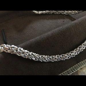 Ross-Simmons SS Byzantine Necklace